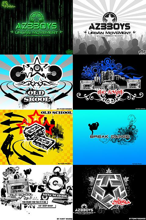 hip hop graffiti wallpaper. Hip-Hop wallpapers by